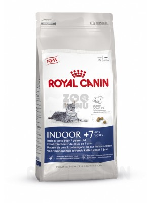 ROYAL CANIN INDOOR +7 храна за котки в напреднала възраст